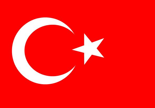 Fahne Türkisch
