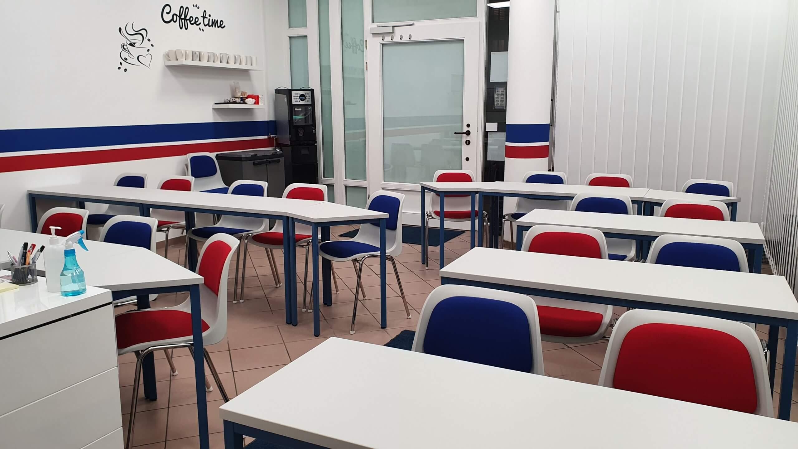 Fahrschule Innenraum