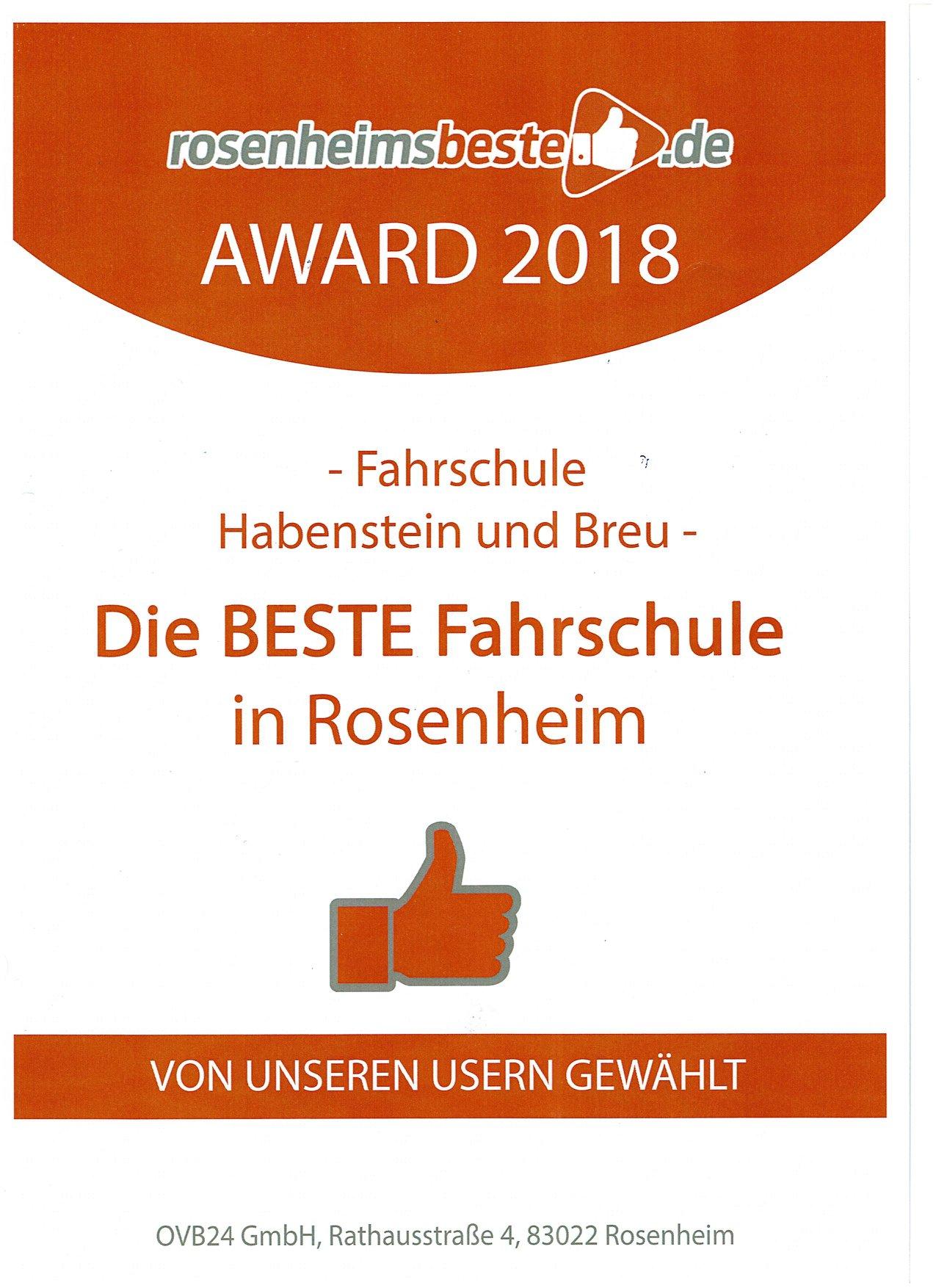 Beste Fahrschule Rosenheim