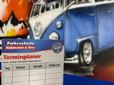 Terminplaner Rosenheim Fahrstunden
