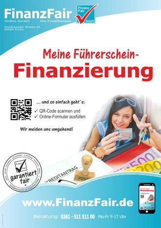 Führerscheinfinanzierung