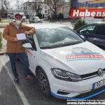 Herzlichen Glückwunsch zur bestandenen Automatik-Führerscheinprüfung in Rosenheim!
