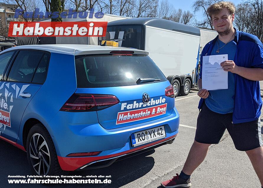 Herzlichen Glückwunsch zur bestandenen Autofahrprüfung, in Rosenheim