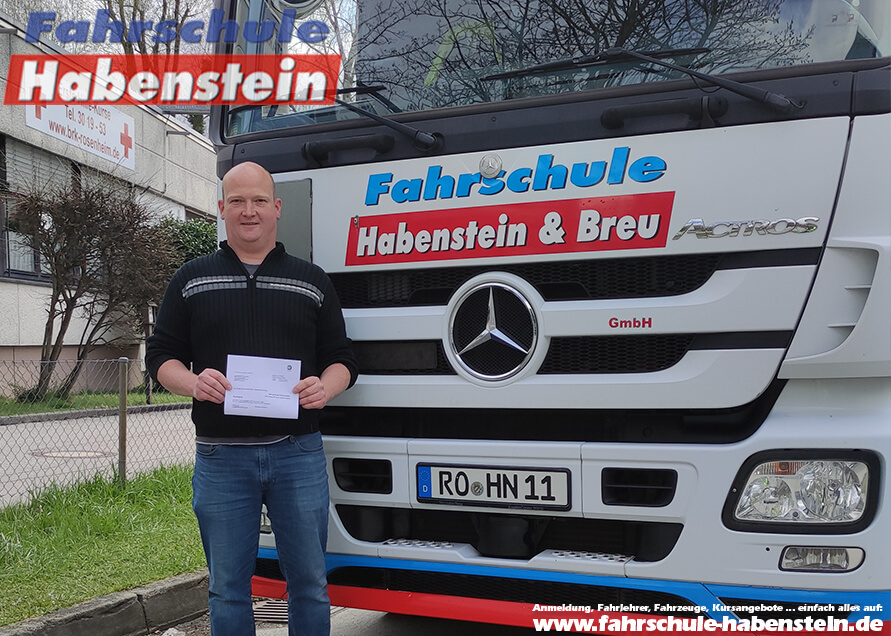 Herzlichen Glückwunsch zur bestandenen Führerscheinprüfung lieber Alois!