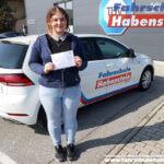 Herzlichen Glückwunsch zur bestandenen Fahrerlaubnisprüfung Klasse B in Rosenheim.