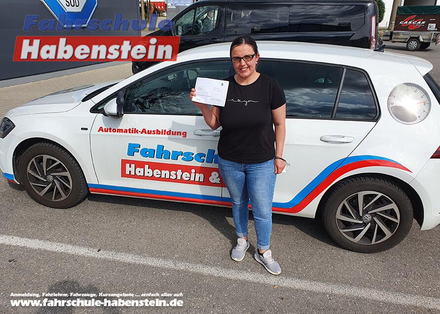 Herzlichen Glückwunsch zur bestandenen Prüfung, Rosenheim, Autoführerschein