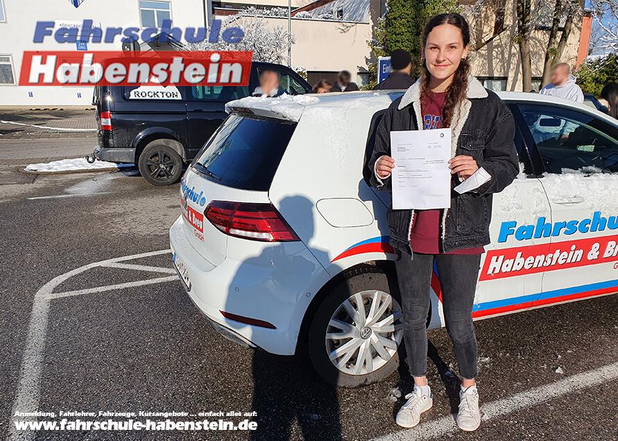 Herzlichen Glückwunsch zur bestandenen Prüfung, Rosenheim